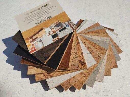 cork tile sample set swing