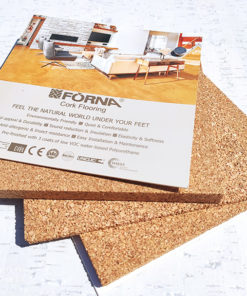 cork underlay sample 3mm 6mm 12mm set