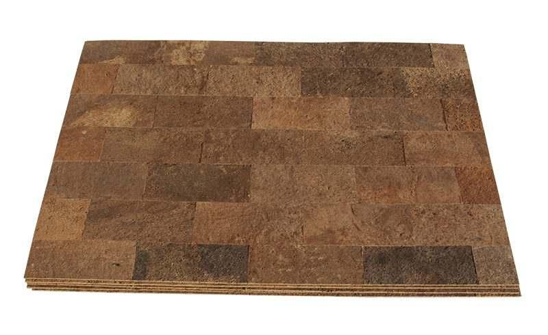 cork wall panels frona 7mm bark natural insulation