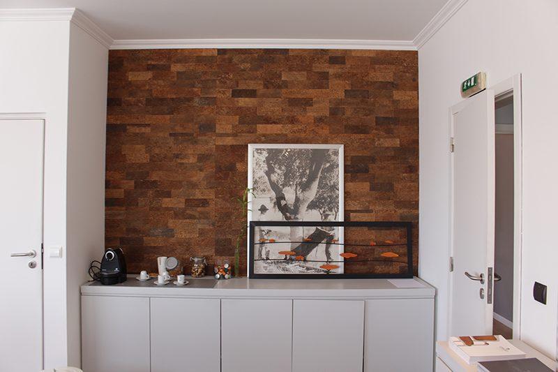 cork wall panels meeting room