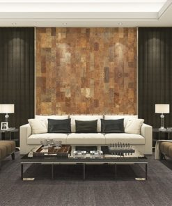 cork wall panels tiles forna acoustic sound insulation living room interior design