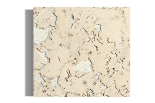 creme cork wall tiles sample