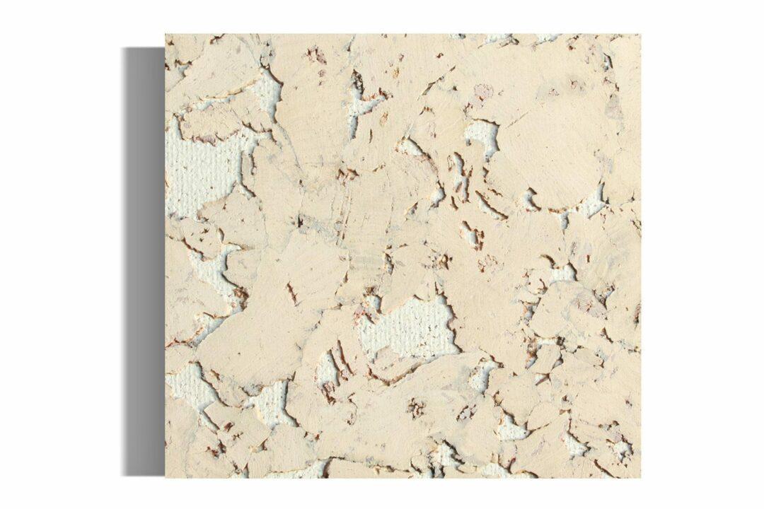 creme cork wall tiles sample