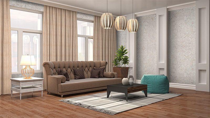 creme natural wall tiles 3mm interior living room design