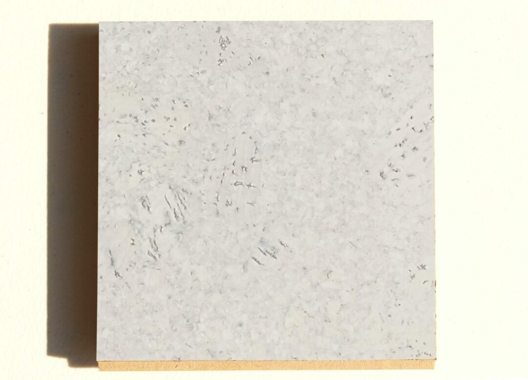 creme royal marble cork tile sample