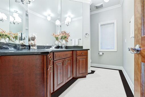 creme royal marble forna cork flooring bathroom interior gorgeous large vanity cabinet with black granite counter top