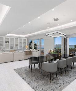 creme royal marble white luxury modern living room whith cork floor