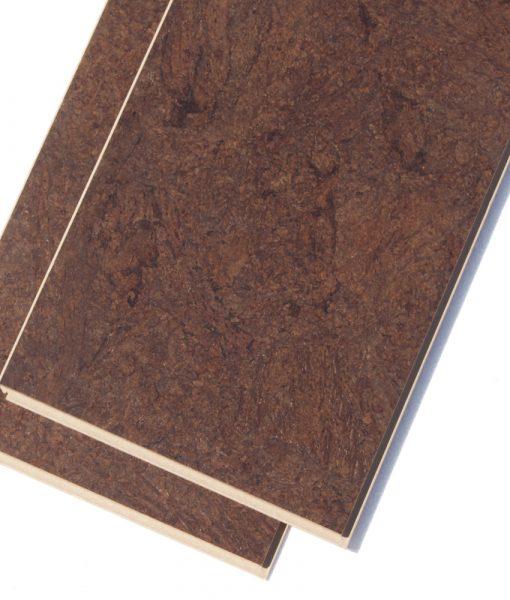 dark cork flooring brown salami click