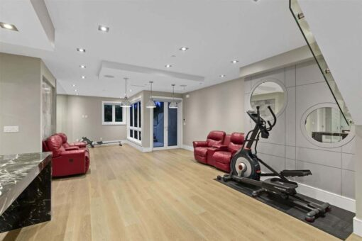 daybreak engineered natural color hardwood flooring living room