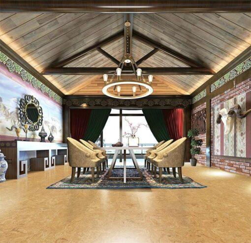 desert arable cork floor forna interior living and dining room