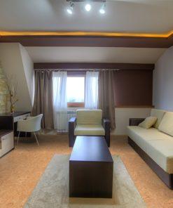 desert arable cork floor modern interior living room