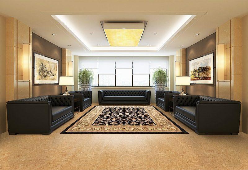 desert arable cork flooring working meeting space