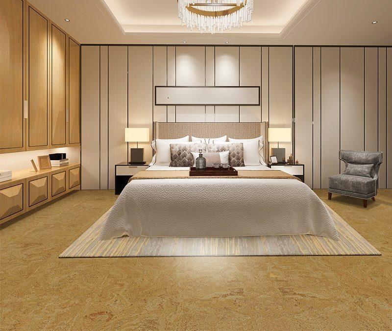 desert arable forna cork floor bedroom anti allergenic flooring