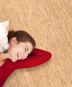 dog flooring cork