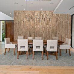 durango cork wall panel dining room