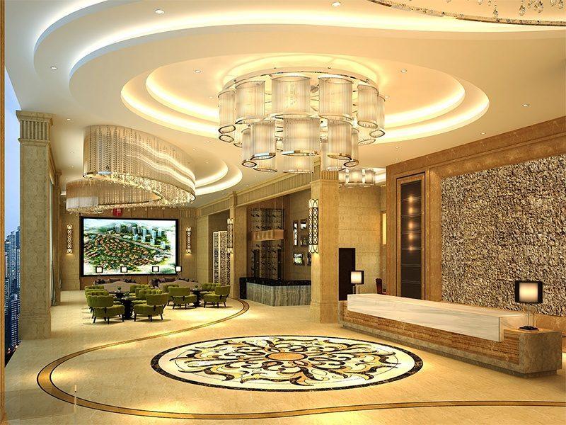 eco clay cork wall panels sustainable hotel lobby decor materials