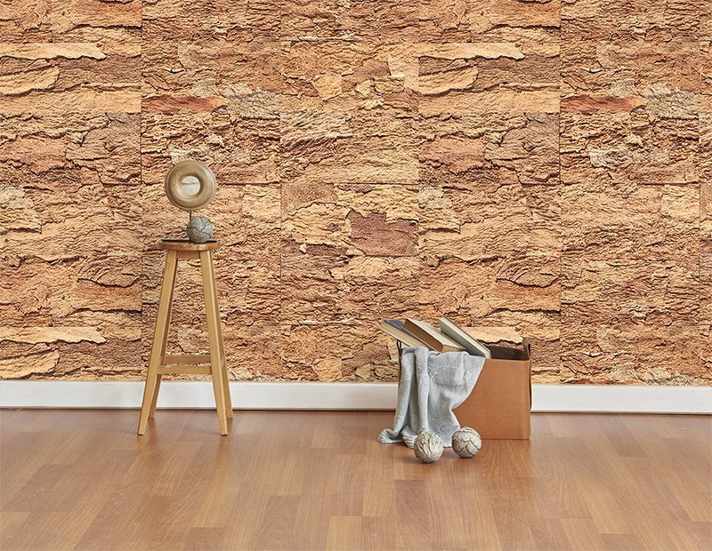 eco clay cork wall panels tiles sound isolation livign room soundproofing interior wall