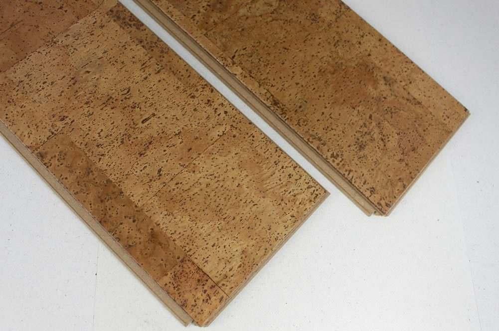 engineered narrow planks cork flooring