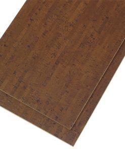 espresso Ipanema cork tiles forna glue down dark