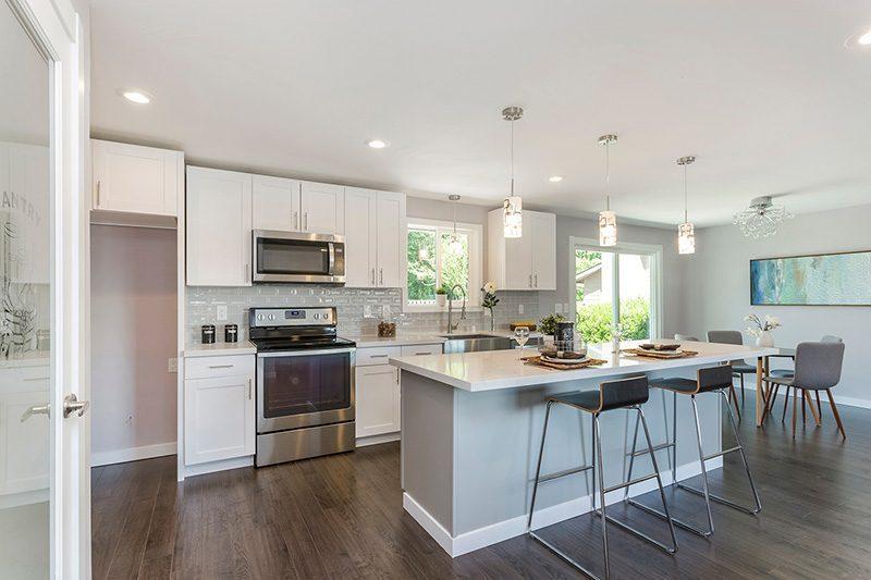 fallingstar maple engineered hardwood floor kitchen