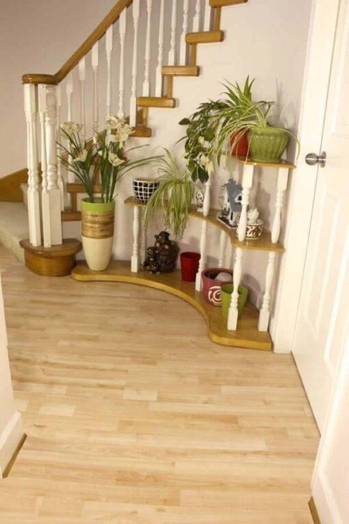 floor birch wood cork forna house