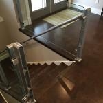 flooring brown salami cork forna floating stairs