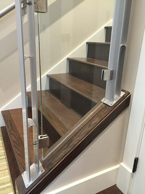 flooring brown salami cork forna floating stairs low slip