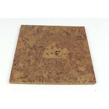 foliage 6mm cork tile flooring sample