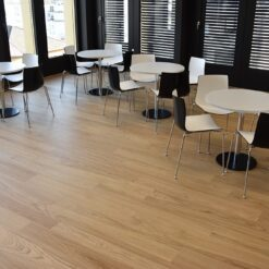 forest real design wood flooring waiting cafeteria