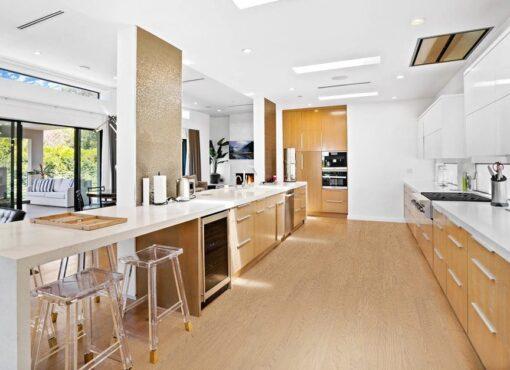 forest real design wood light-fast natural materials kitchen wooden floor