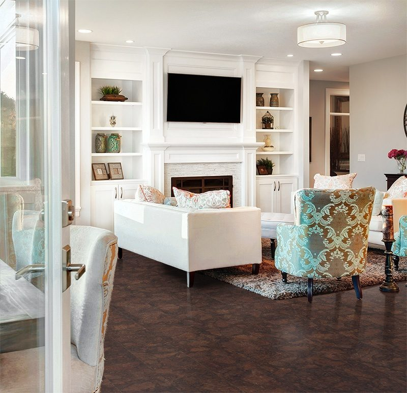 gemwood cork floor beautiful living room new home design