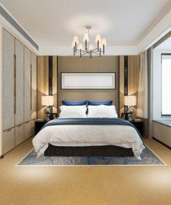 golden bach cork floor forna sound absorbing flooring bedroom suite in hotel