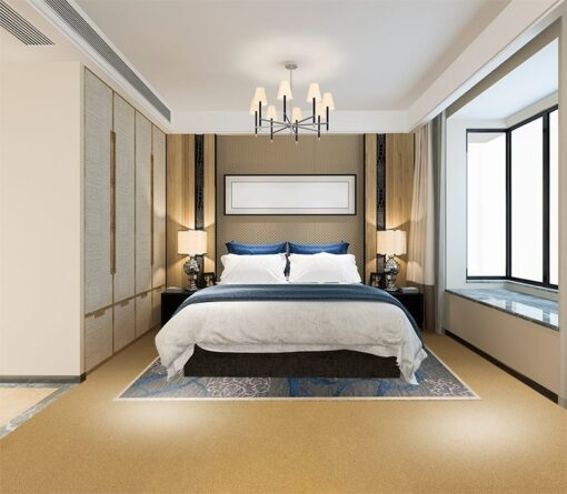 golden bach cork floor forna sound absorbing flooring bedroom suite in hotel