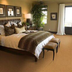 golden bach cork floor spacious luxury bedroom