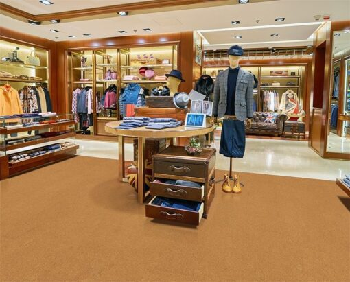 golden bach forna cork floor shopping mall store flooring