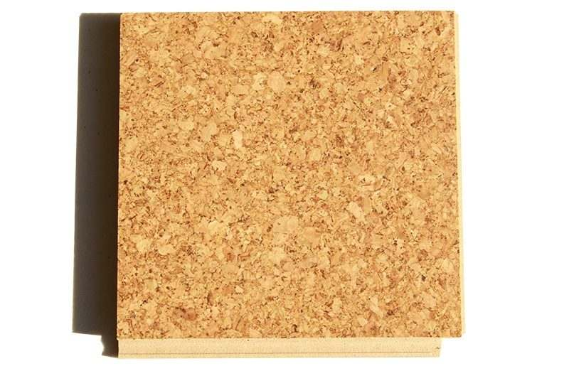 golden floating cork flooring- 2mm sample