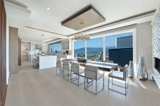 gray bamboo cork flooring trend modern interior