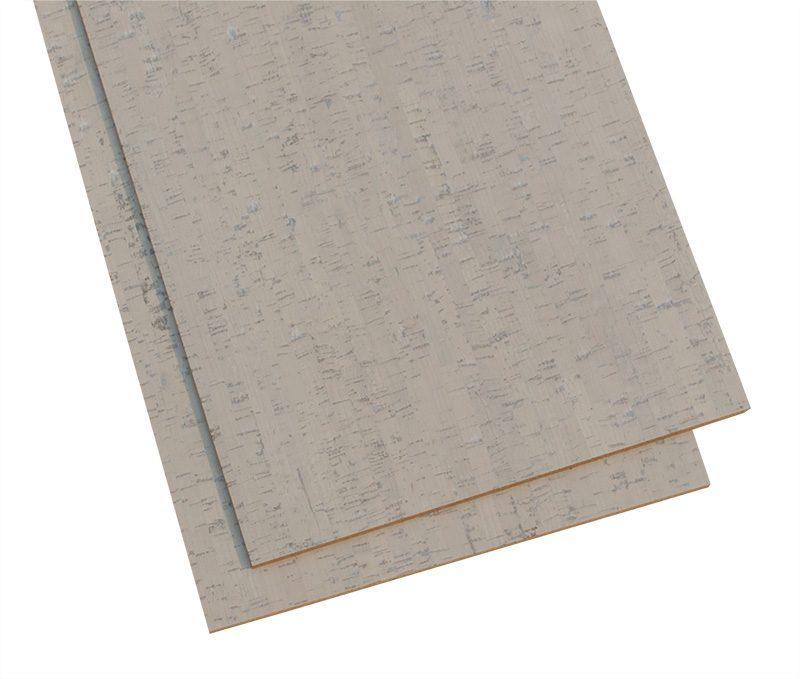 gray bamboo cork soundproofing a floor