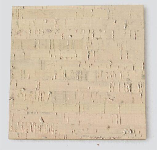 gray bamboo cork tile sample