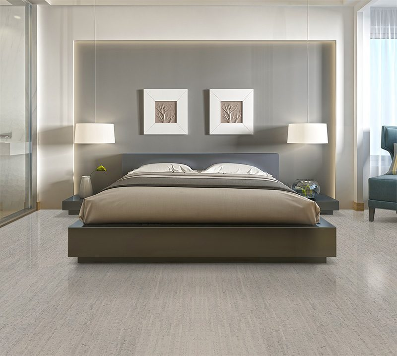gray bamboo forna cork flooring modern one double bed
