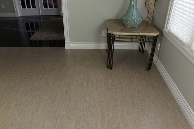 Cork Flooring Grey Gray Bamboo 6mm Tiles 22sf Package