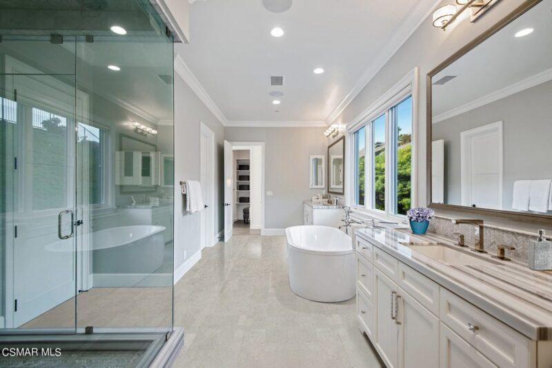 gray leather cork tiles 6mm best flooring for bathroom remodel