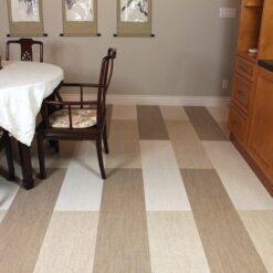 gray white bamboo bleached birch cork tiles
