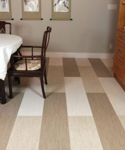 gray white bamboo bleached birch cork tiles