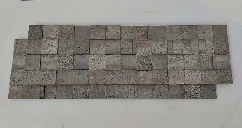 grey cubes coustical Wall Panels absorbin sound peel ans stick