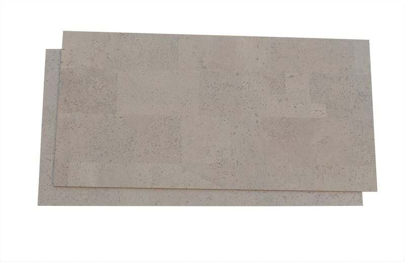 grey leather cork tiles forna flooring