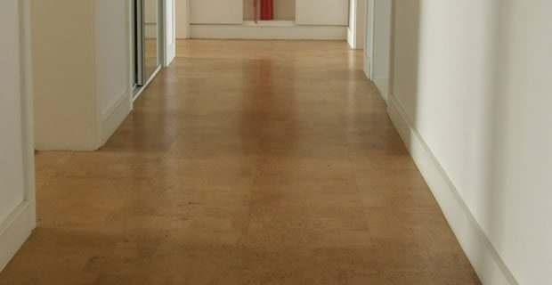 hallway cork flooring