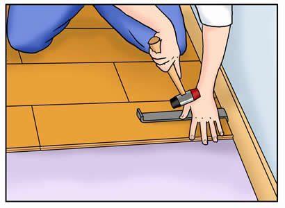 install cork flooring forna last planks