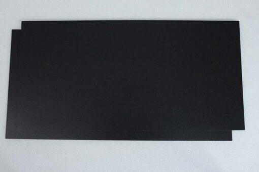 jet black floor covering cork tile