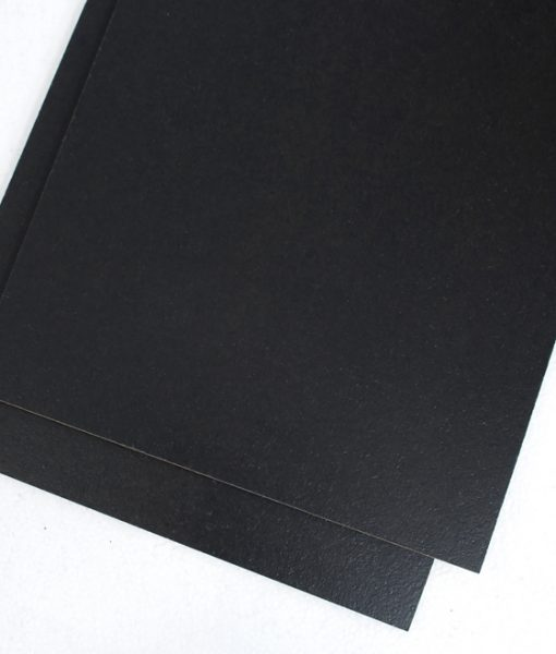 jet black floor covering cork tiles